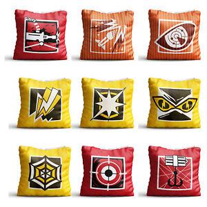 Details about Operators Logo Pillow Case 40-45cm + Operators Badge For R6 R  Six Siege