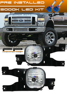 details about led 2008 2010 ford f 250 super duty fog lights complete set kit include wiring 2012 Ford F -150
