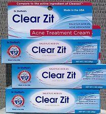 3 Tubes Clear Zit Anti Acne Treatment Cream Pimple Breakouts 2% Salicylic Acid