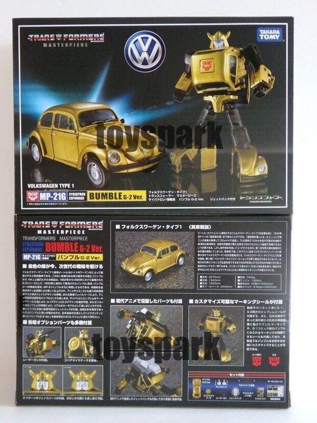 Takara transformers Masterpiece MP-21G BUMBLEBEE G2 ver goldbug action figure