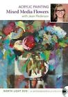 Acrylic Painting - Mixed Media Flowers by Jean Pederson (DVD video, 2013)