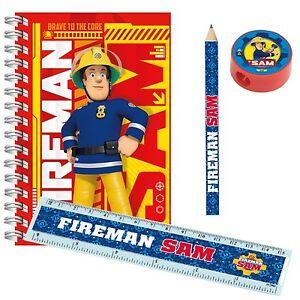 Sam-le-pompier-fete-PAPETERIE-faveurs-Sac-soiree-crayons-gomme-20-120pk