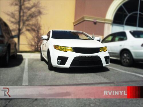 Rtint Headlight Tint Precut Smoked Film Covers for Hyundai Sonata 2015-2016