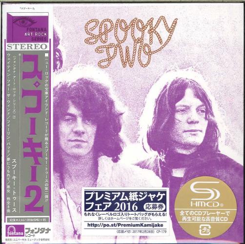 SPOOKY TOOTH-SPOOKY TWO-JAPAN MINI LP SHM-CD BONUS TRACK Ltd/Ed G00