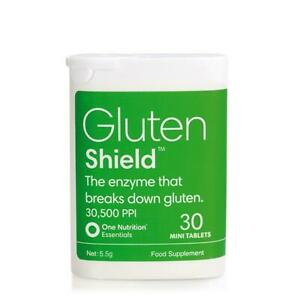 One Nutrition Essentials Gluten Shield - 30 Mini Tablets *EXP 11/2021*