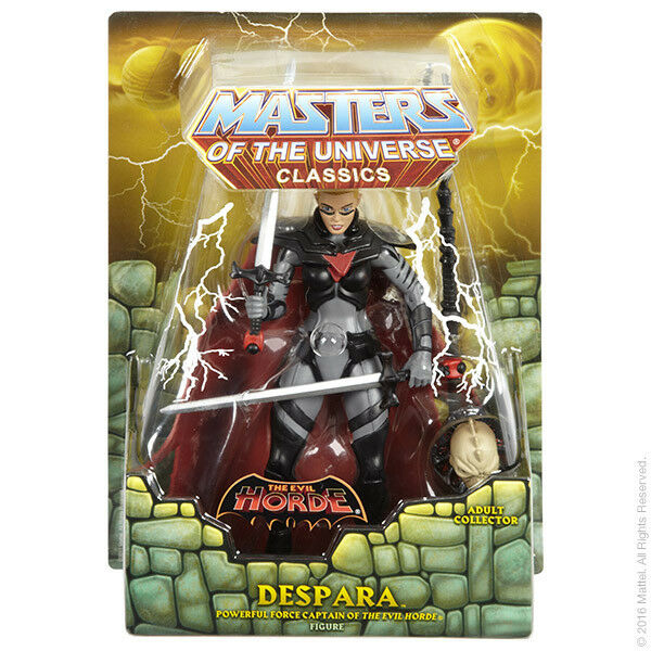 Masters of the Universe Club Eternia Exclusive Despara 6  Action Figure MOTU