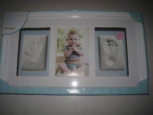 Pearhead Babyprints Deluxe Wall Frame White Ebay