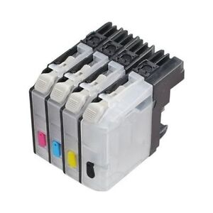 4-Empty-Refillable-ink-cartridge-for-Brother-LC103-MFC-J875DW-J870DW