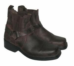 034-STONE-CREEK-034-Biker-Stiefeletten-kurze-Stiefel-Boots-braun-ca-Gr-44