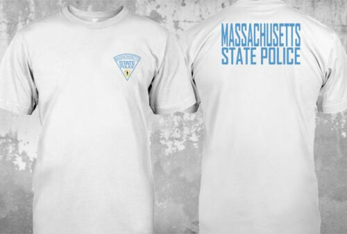 NEW Massachusetts Police State United States Department Justice Tee T-Shirt