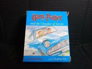 Harry-Potter-Audio-Cassette-Books-Stephen-Fry-Chamber-of-Secrets