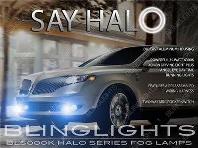 Angel Eye Fog Lamps Halo Driving Lights Kit for 2010-2014 Cadillac ...