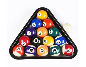 Image Is Loading Deluxe USA Mini Pool Billiard Balls Set W