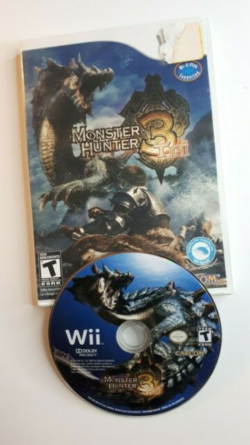 Monster Hunter Tri / 3 - ( Nintendo Wii ) CANADA - FAST AND FREE SHIPPING !!
