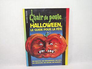 Ensoleillé Chair De Poule Halloween Le Guide Pour La Fête 2001 Livre Grande Taille 17/23cm Prix De Vente