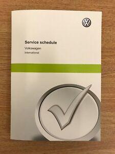 vw volkswagen polo blank service schedule history log book 1 6 2 0