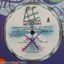 """DAZZ BAND ~ Shake It Up / HIGH INERGY ~ Hold On To My Love ~ 12"""" Single DEMO"""