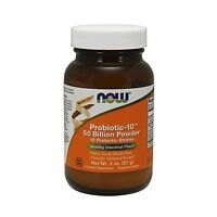 Now Probiotic-10 50 Billion Powder2-ounce Free Shipping