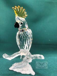 Swarovski Crystal -  Cockatoo (A7621 NR 000 007) 261635, MIB, COA, Free Shipping