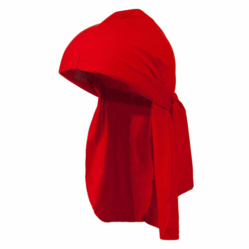 Men/'s Durag Bandana Breathable Close Fit Tie Down Sport Du Rag Head Scarf Wrap
