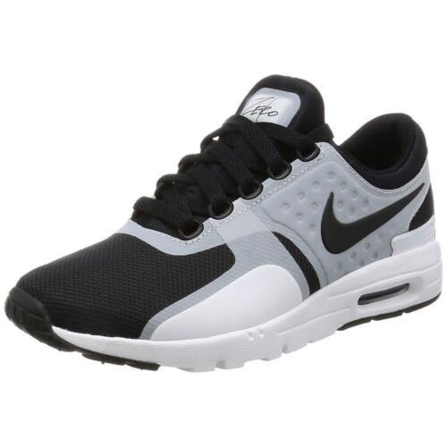 correr Max para Zero Zapatillas mujer Nike Air 102 857661 Black de White gwAcx451