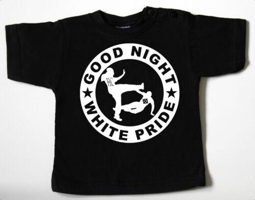 Good Night white pride Black Baby-t-shirt