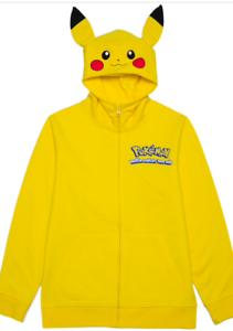 Pokemon Sweatshirt Pikachu Hoodie USA