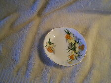 Souvereign House, Vintage England, Bone China Nut Dish w/Yellow Flowers