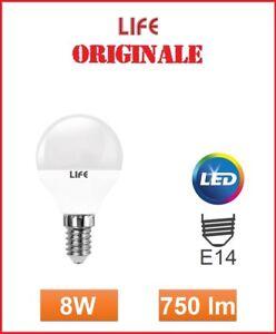 Lampadina-E14-LED-MINI-SFERA-8W-3000-4000-6500-K-V-TAC-LIFE-PHILIP-39-920265