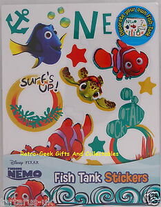 Aquarium Starter Kit Finding Nemo Dory Decorate Your Fish Tank Stickers By Handa