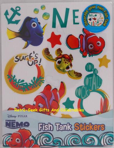Aquarium Starter Kit Finding Nemo Dory décorer votre aquarium Autocollants par Handa