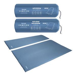 Silentnight Camping Mattress Self Inflating Lightweight 5cm10cm Single Double