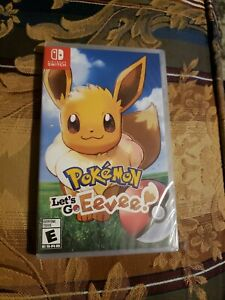 Pokemon: Let's Go Eevee! Nintendo Switch Brand New Factory Sealed