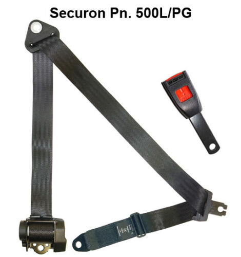 NEW Securon Seat Belt 500L//PG Lap /& Diagonal Belt x1