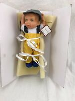 Hooked On Fishing Reel Cute Doll Collection By Cheryl Hill Ashton Drake