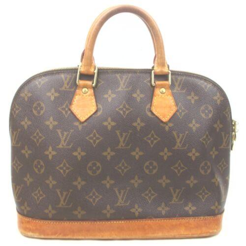 Louis Vuitton Hand Bag Alma M51130 Browns Monogram