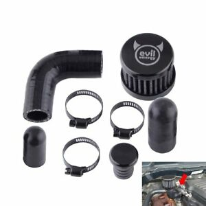 Durable Crank Case Vent Reroute Kit with Vent Hose for DODGE 6.7 CUMMINS DIESEL 2500 3500 Car Original Standard Easy to Install Vent Crankcase Filter Kit