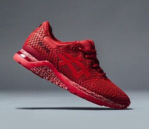 6513acdda58e ASICS GEL-LYTE III EVO H 53CQ SAMURAI ARMOUR RED MEN S RUNNING ...