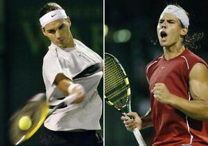 T-shirt tennis Nike Roger Federer, Miami 2004, taille M
