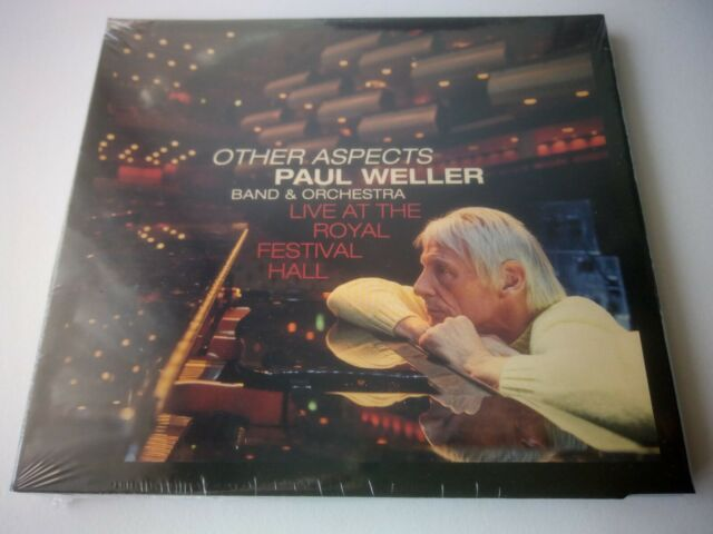 PAUL WELLER - OTHER ASPECTS LIVE AT THE ROYAL FESTIVAL HALL 2 CD/DVD 2019 SEALED