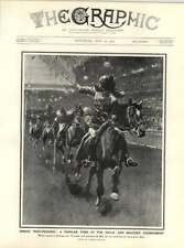 1909 Indian Tent Pegging Military Tournament Olympia