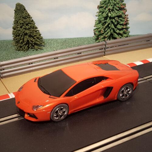 Scalextric 1:32 Voiture-C3460 Orange Lamborghini Aventador #D