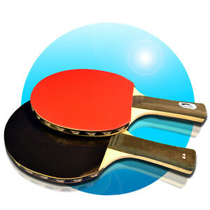 Slazenger-2er-Tischtennisschlaeger-3-Baellen-SET-Tischtennis-Ping-Pong