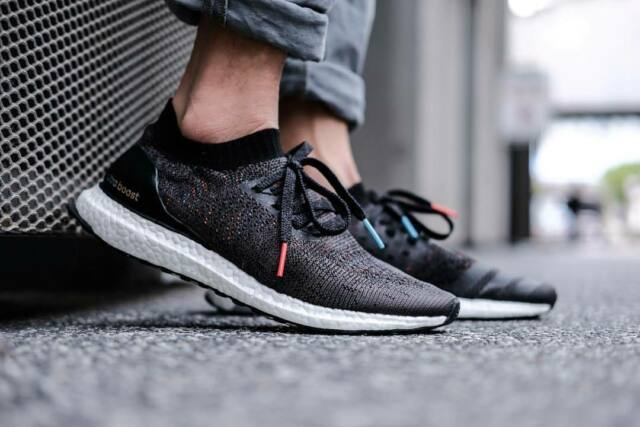 huge discount bae5a a1dd0 Adidas Ultra Boost Uncaged size 8.5. Black Multicolor. BB4486. primeknit pk  nmd