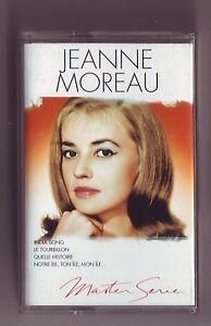 cassette-audio-jeanne-Moreau-bon-etat-Master-serie-19-titres