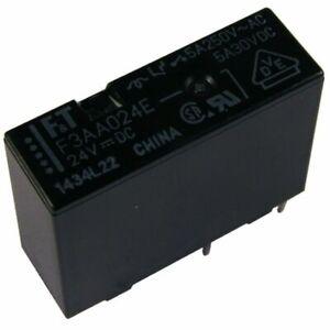 FTR-F1CA024V Relais elektromagnetisch DPDT USpule  24VDC 5A//250VAC 5A FUJITSU