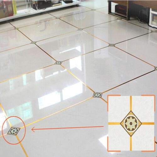 50Meters waterproof copper foil tape adhesive floor tile beauty seam sticker WS