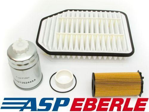 Servicepaket 2.8-L D. Ölfilter Benzinfilter Luftfilter Jeep Wrangler JK 07-16