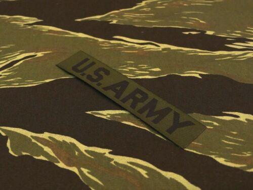RDF Jungle jacket TIGER STRIPE for OG-107 US ARMY WOVEN TAB TAPE ERDL
