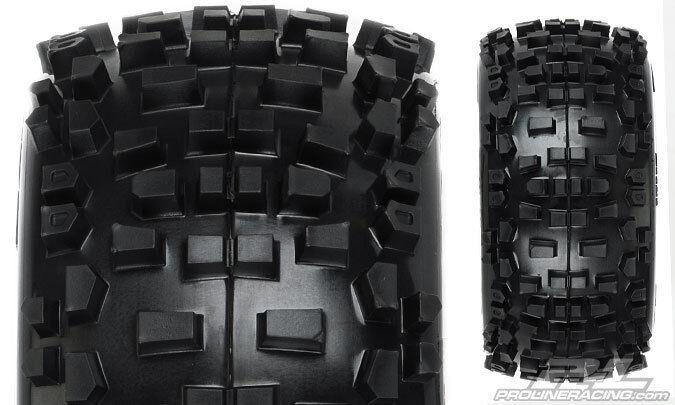 1178-11 Badlands 3.8 All Terrain Tires Mntd Fr Re